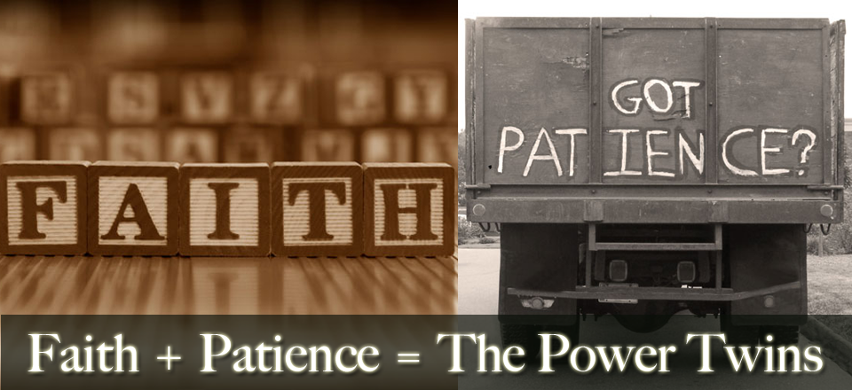 Blog Striking Faith and Patience Faith and Patience