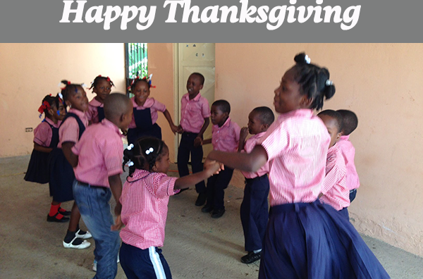 Reasons to be Thankful (Thanksgiving Message 2015)