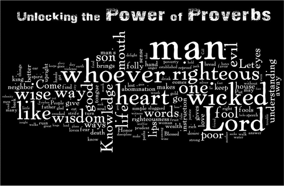 Proverbs Chapter 1 - Today's Word
